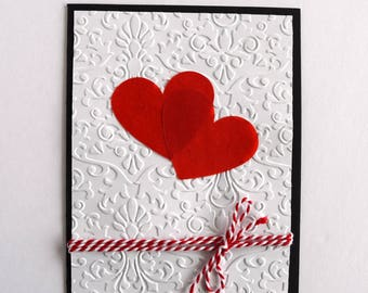 Happy Anniversary Card - Romantic Card - I Love You Card - Dating Anniversary - Parents Anniversary - Congratulations Card - 1st Anniversary