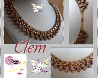 Collier CLEM son tutoriel en PDF