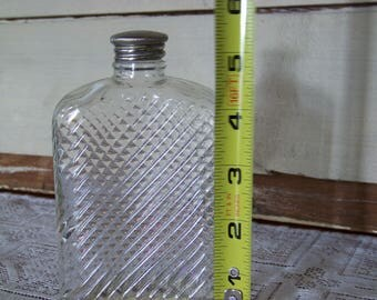SALE! Glass flask patented in 1927. Universal Pat D.