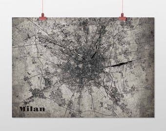 Milan din a4/DIN A3-print-old-school