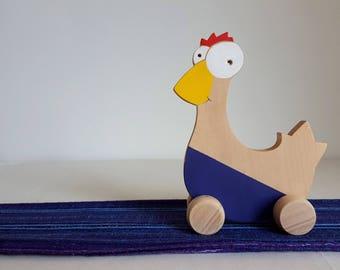 Chick colorful push - Mastro toys