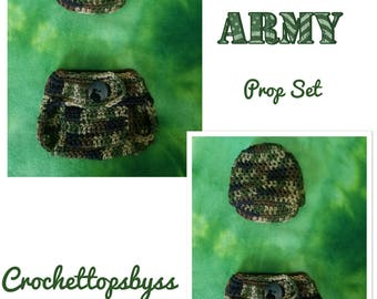 Infant Boys' Army Prop Set