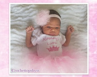 Newborn Girls' Pink Tutu Set