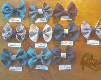 Winter bow . bow. vintage bow. hair accessories. kids. girls . fashion bows. barettes . rustic