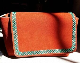 mini leather purse hand embroidered mini leather purse herringbone stitch shoulder bag crossbody purse