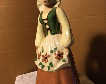 S-Quire Ceramics California Pottery Woman