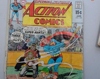 2 Vintage Superman Comic Books