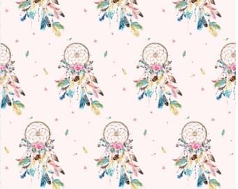 Boho, Dreamcatcher Reversible Baby Play Mat, Roundie, Tummy Time, Nursery Decor, Baby Shower