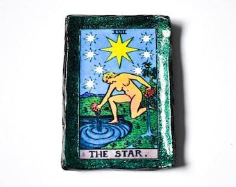 The Star Tarot Card Trinket Dish