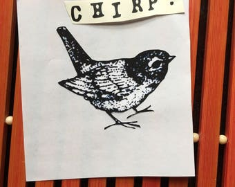 Rae Dunn Inspired Chirp Decal