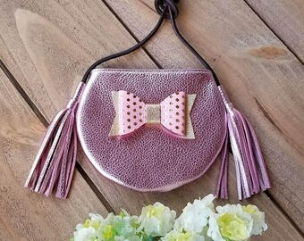 TASSEL KID PURSE |Toddler purses | Baby purses | Handmade purse | Original design | Birthday Girl | Girls gift