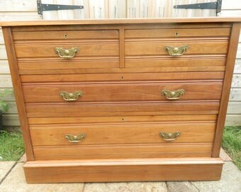 Edwardian Ash Chest of Drawers