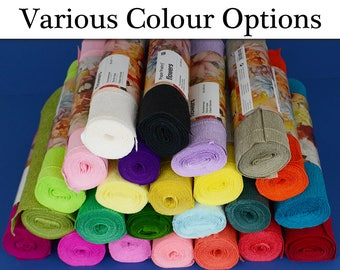 Floristry Crepe Paper for Flower Making Crafts - Choice of Colours
