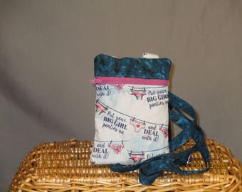 Small K.I.S.S Wallet on a String (Big Girl Panties)