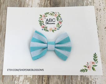 Mini fabric bow