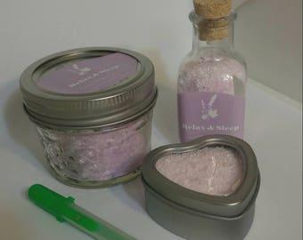 Pure Bath salts Epsom salts essential oils natural favors