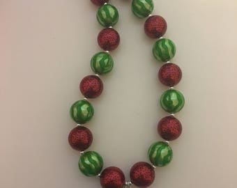 Watermelon bubblegum necklace