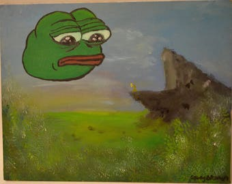 The Circle of Pepe Oil Painting