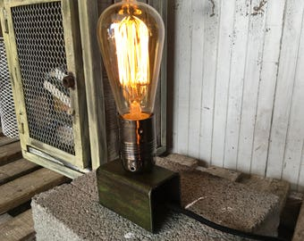 Lamp industrial steel 5thdeco