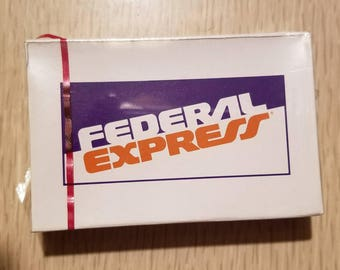 Unopened Federal Express Playing Cards