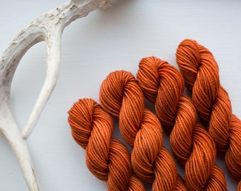 Art Deco {DK Weight} Superwash Merino Mini Skein