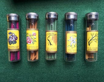 Vintage Nippon Sakura Incense Perfume Sticks