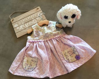 Sweet Lilac & Lace Baby Dress