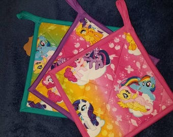 My Little Pony Pot holder (Hot Pad)