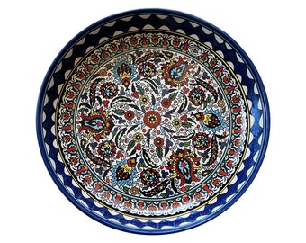 Vintage Tamimi Hand Painted Middle Eastern Dish
