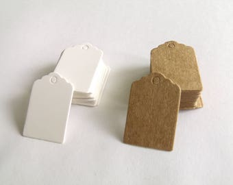 50 mini Tags tags 2 cm * 3 cm