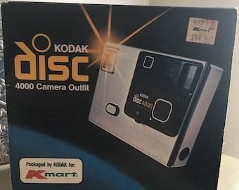 Vintage Kodak Disc 4000 Camera