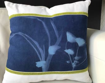 Cyanotype Pillow