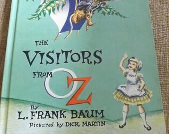 Vintage 1st Edition The Visitors from Oz By L. Frank Baum