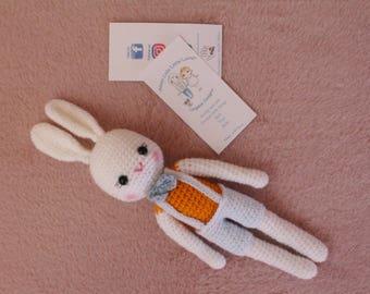 crochet bunny ≈ZAR250