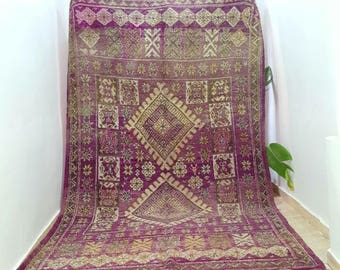2.87/1.84m 112,9x72,4 inches Moroccan rug Boujaad
