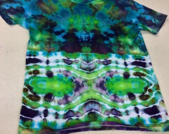 Medium ice dyed t shirts