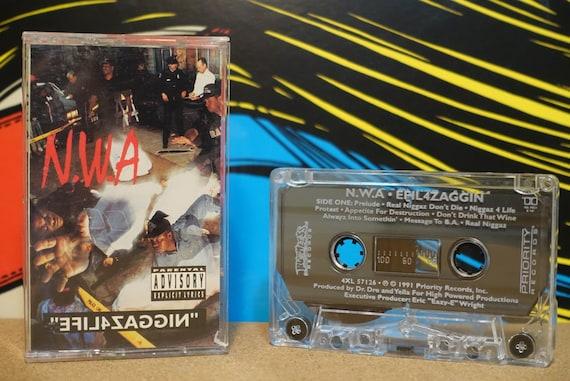 Efil4zaggin by N.W.A. Vintage Cassette Tape