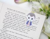 Eleven - Magnetic bookmark - Stranger Things || geek gifts, hawkins, tv show, mike wheeler, dustin, happy planner, stranger things bookmarks
