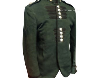 Irish Guards Band Piper Mans Green Tunic - Ceremonial Uniform - Footguards - E339