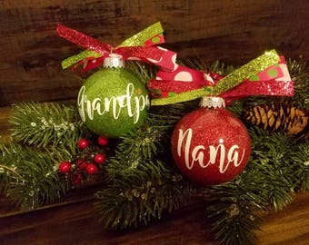 Personalized christmas ornaments | Etsy