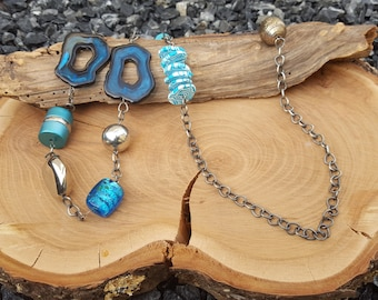 Necklace Long Turquoise