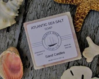 Sand Castles Sea Salt Soap