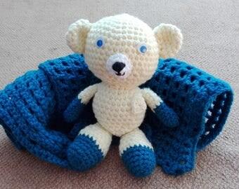 Ales - bear crochet