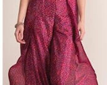 BOHEMIAN HIPPIE CULOTTES, boho skirt, indian lehengha, indian skirt, hippie skirt, indian skirts, indian clothing, Bohemian pants
