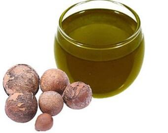 Tamanu Oil Premium Organic Cold Pressed  Samples- 1,2,4,8,16 oz Rich Green Color