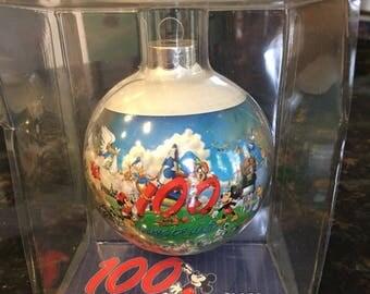 Walt Disney World 100 Years of Magic Glass Ball Christmas Ornament - NIB