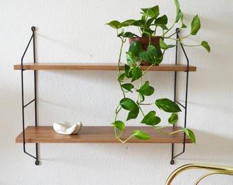 wandregal etsy. Black Bedroom Furniture Sets. Home Design Ideas