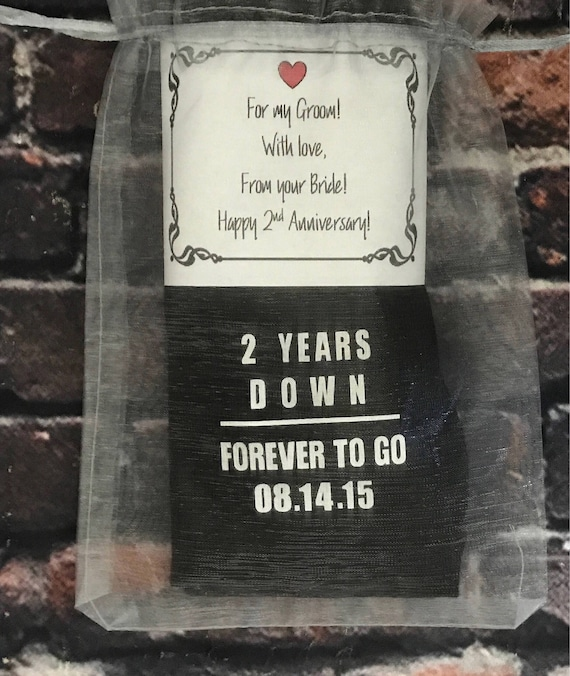 Second Wedding Anniversary Gifts For Men: Cotton Anniversary Gift Second Anniversary Men Or Women FREE