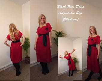 Black Rose Dress