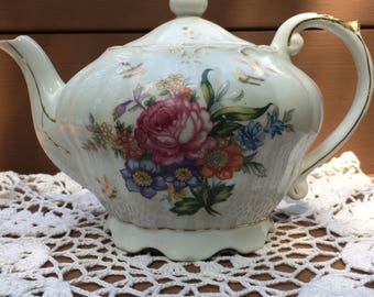 Vintage Musical Tea Pot